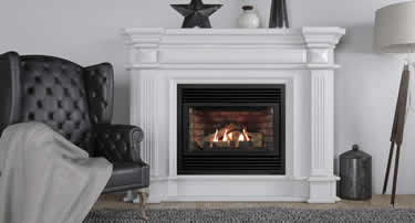 New Gas Fireplace in nice home