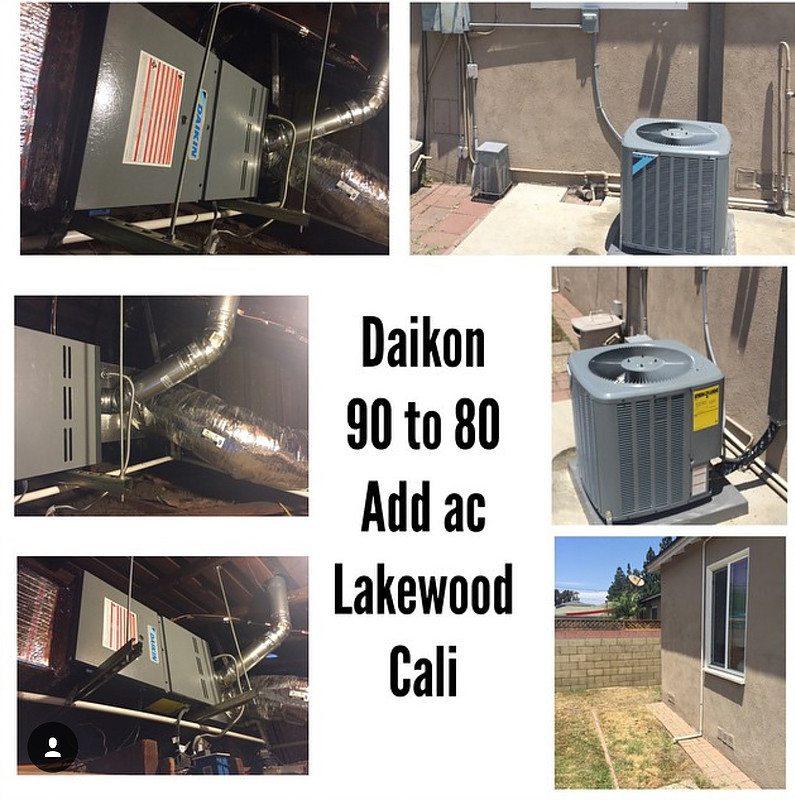 Daikin Heat Pump New Install