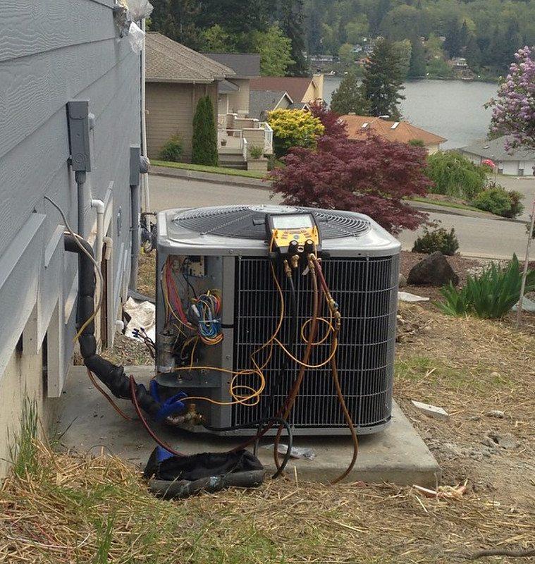 New Daikin Heat Pump install in Bremerton
