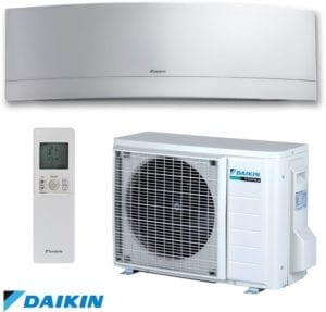 Daikin Ductless Emura Heating and Cooling System